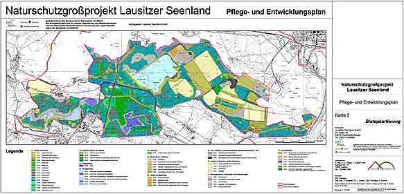 Karte Schutzgebiete