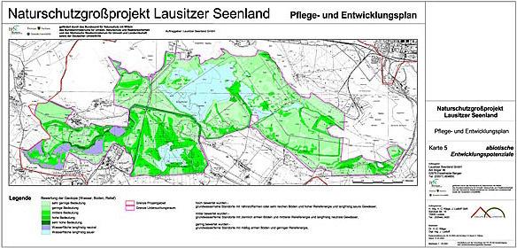 Karte Entwicklung